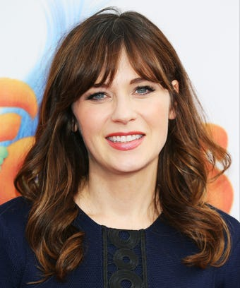 Zooey Deschanel Cuts Long Hair For Short Bob Instagram