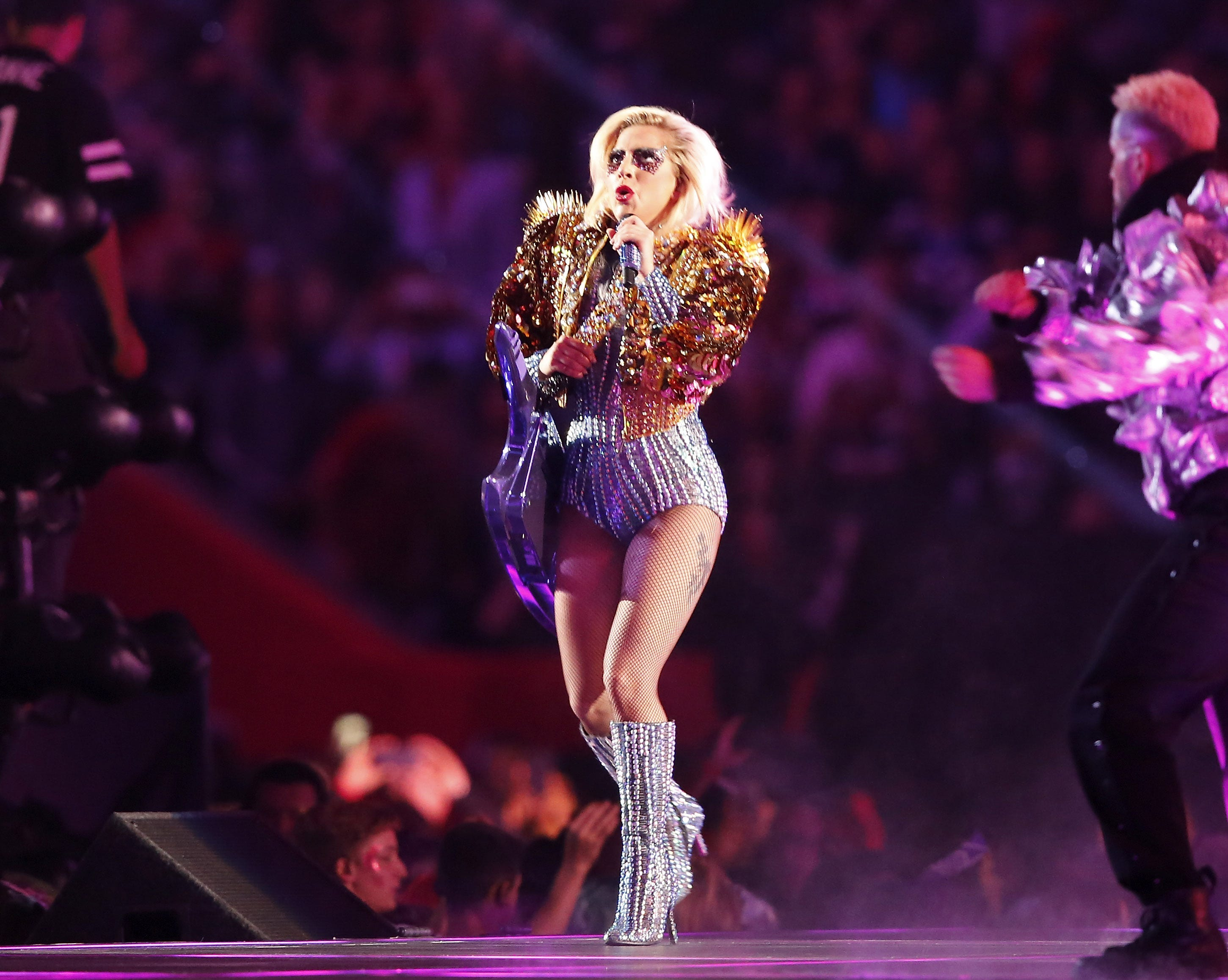 Gaga's Makeup Cost Almost As Much As A Super Bowl Ticket