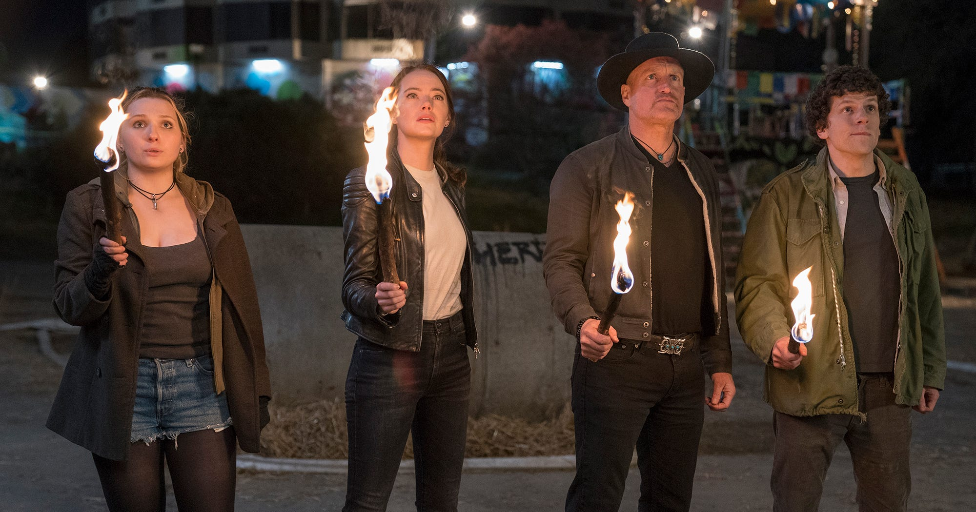 Emma Stone Has A Zombieland Sequel Idea That Will Make The Undead Live On Forever