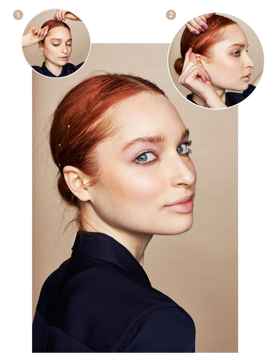How To Use A Bobby Pin Hairstyle Tips