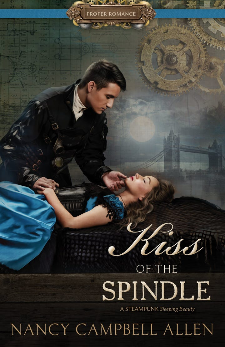 Kiss of the Spindle by Nancy Campbell Allen (2018)