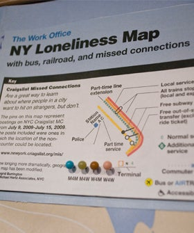 New York Missed Connections— Study Of Most Frequent Missed