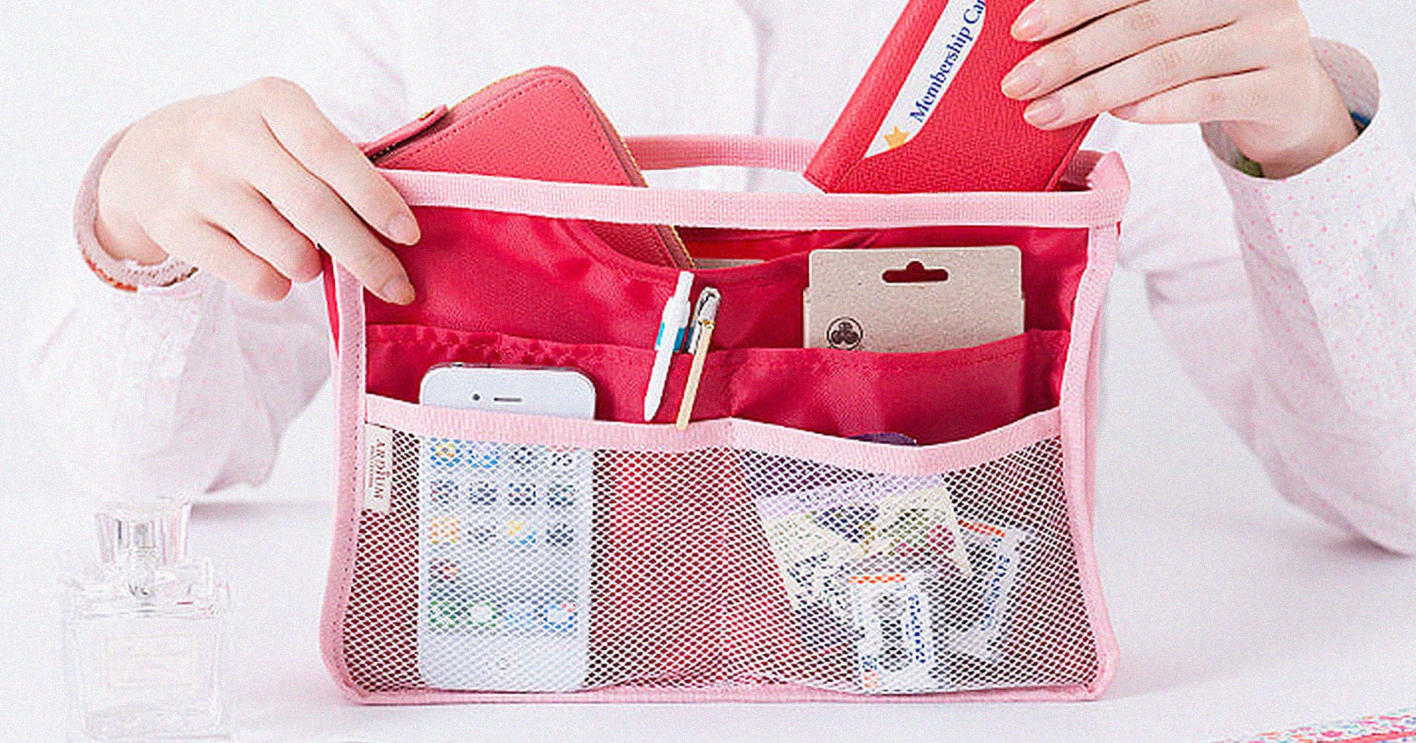 Handbag Organizers That Make Life Just A Tad Bit Easier