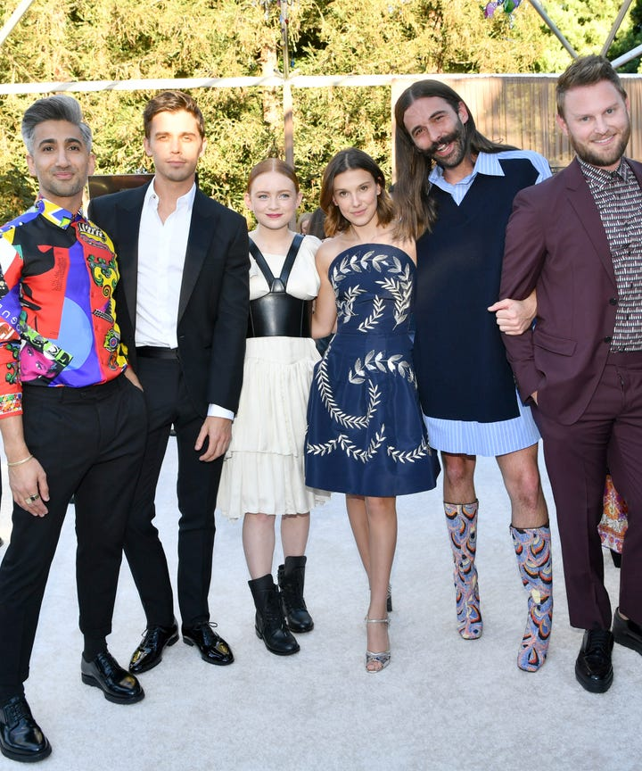 Queer Eye Guys Were The Most Popular Cast At Emmys 2018