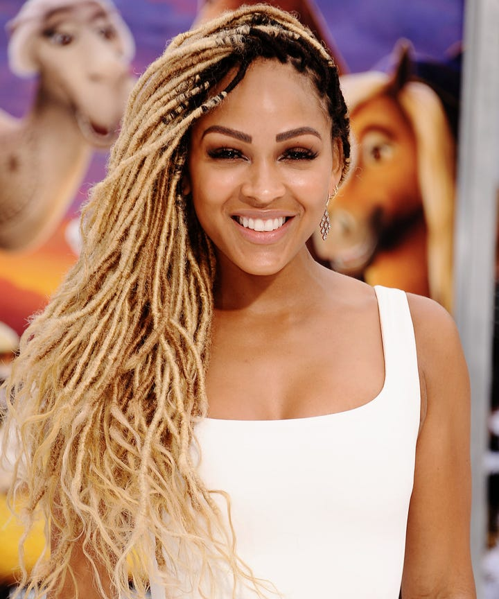 Meagan Good Goddess Locs Natural Hair Tips Advice