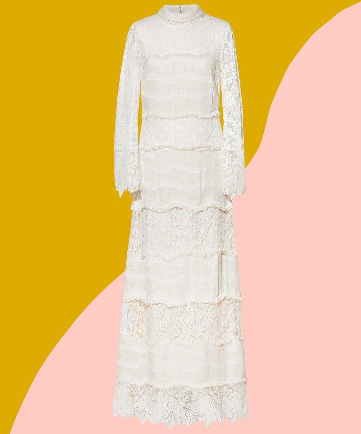 new hm bridal conscious collection wedding dresses