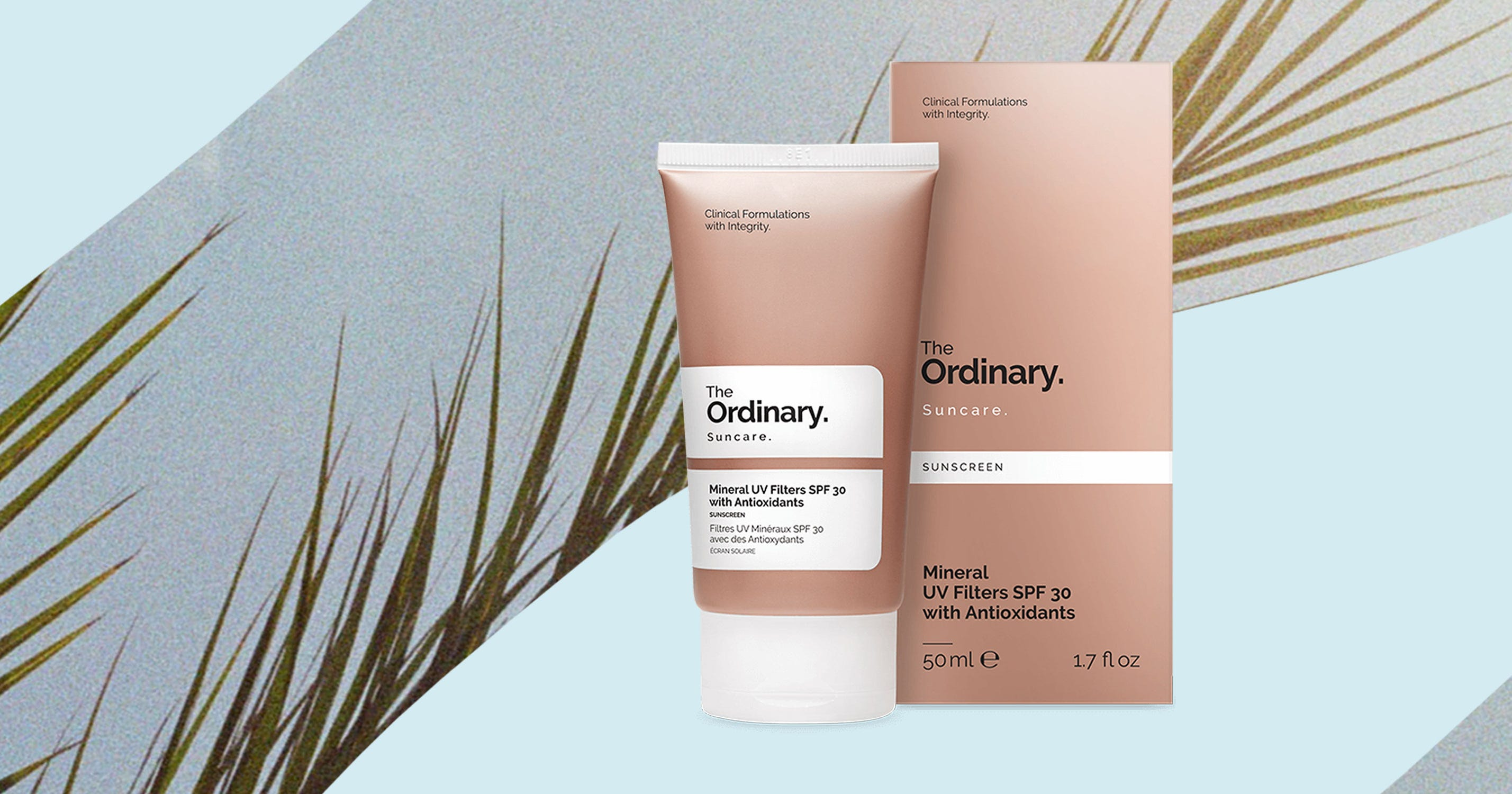 The Ordinarys Suncare Range Is Available To Buy Now Acnes Uv Tint Spf 35