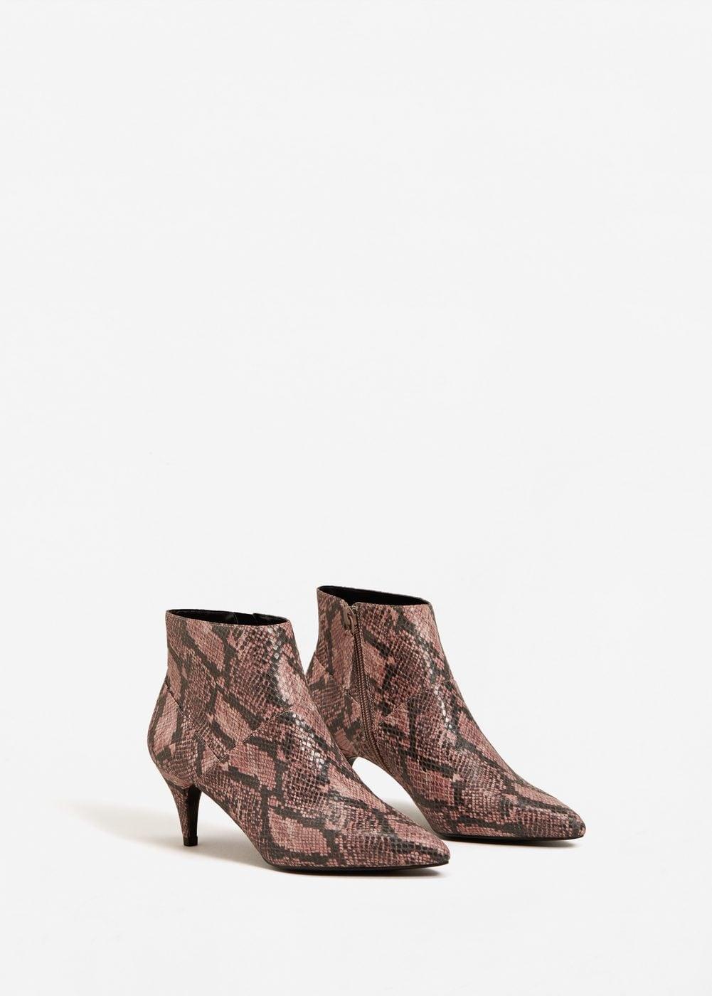 34b962f62d7 Kitten Heel Boots Trend Fall 2017 - Zara Topshop Tibi