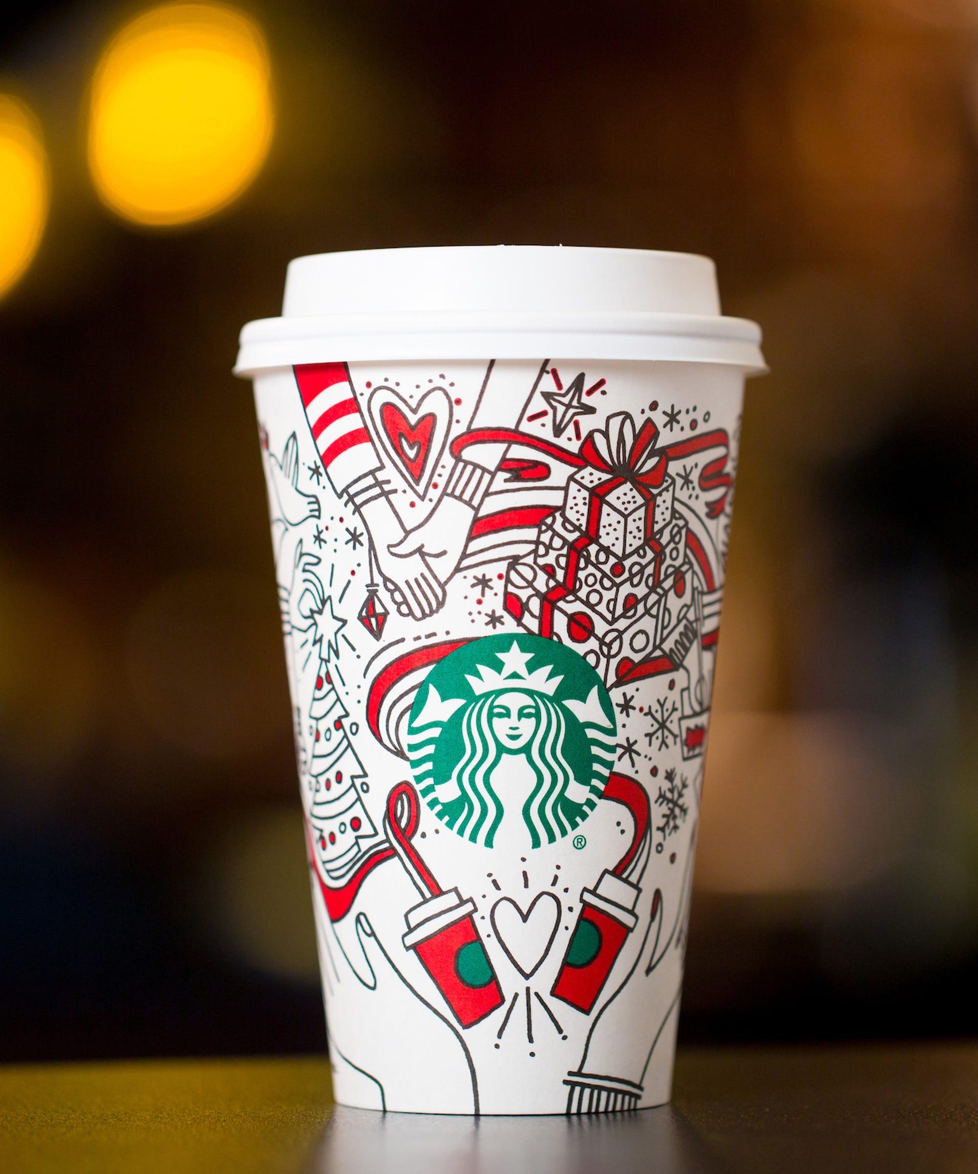 Viral Starbucks Coffee Cup Art 2017