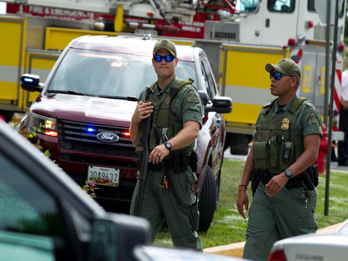 Five Dead In Maryland Newsroom Shooting