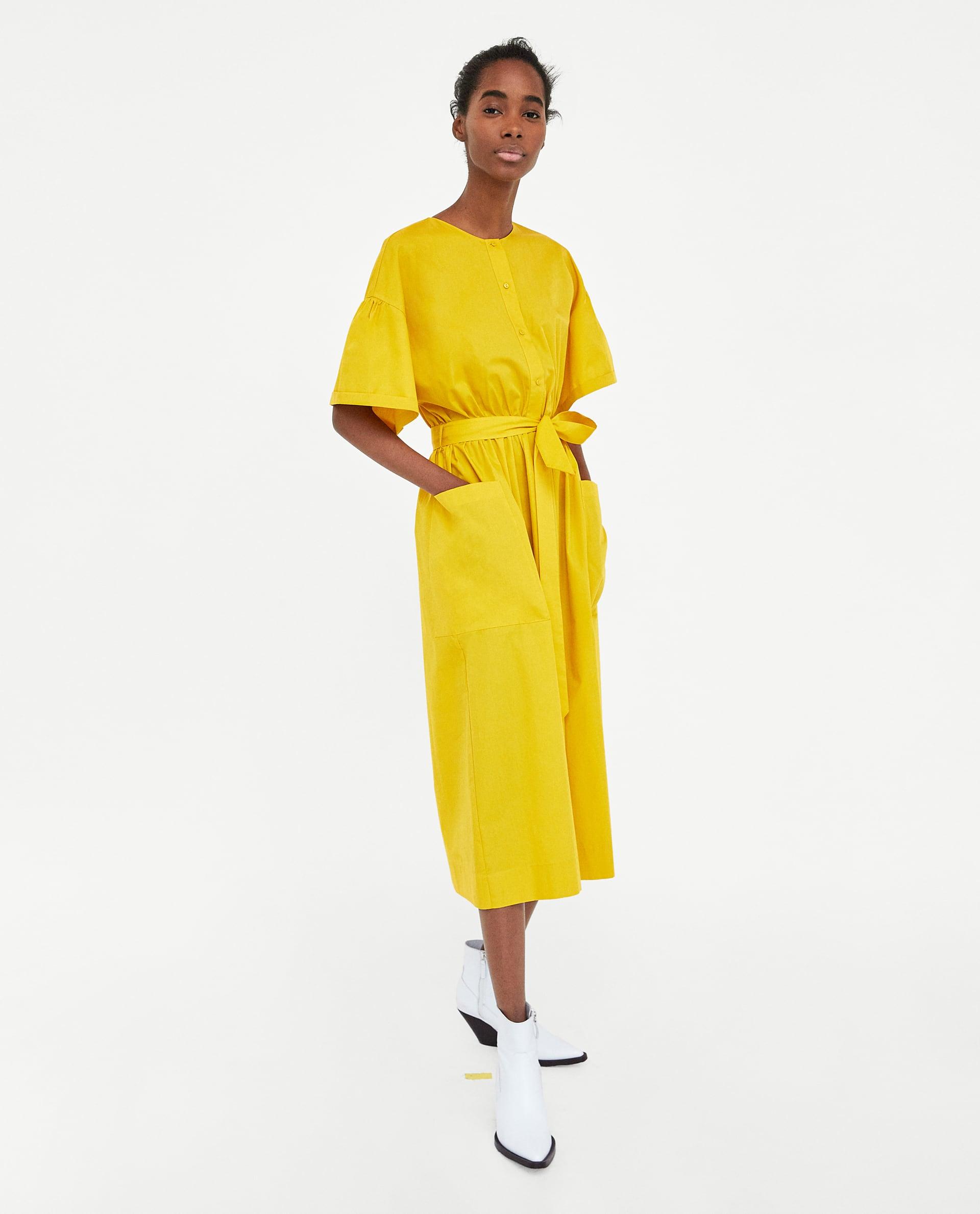 4a21fb6b Zara Midi Dress Trend Dresses For Women