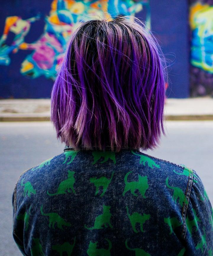 Purple Hair Color Ideas Pastel Ombre Silver Shades