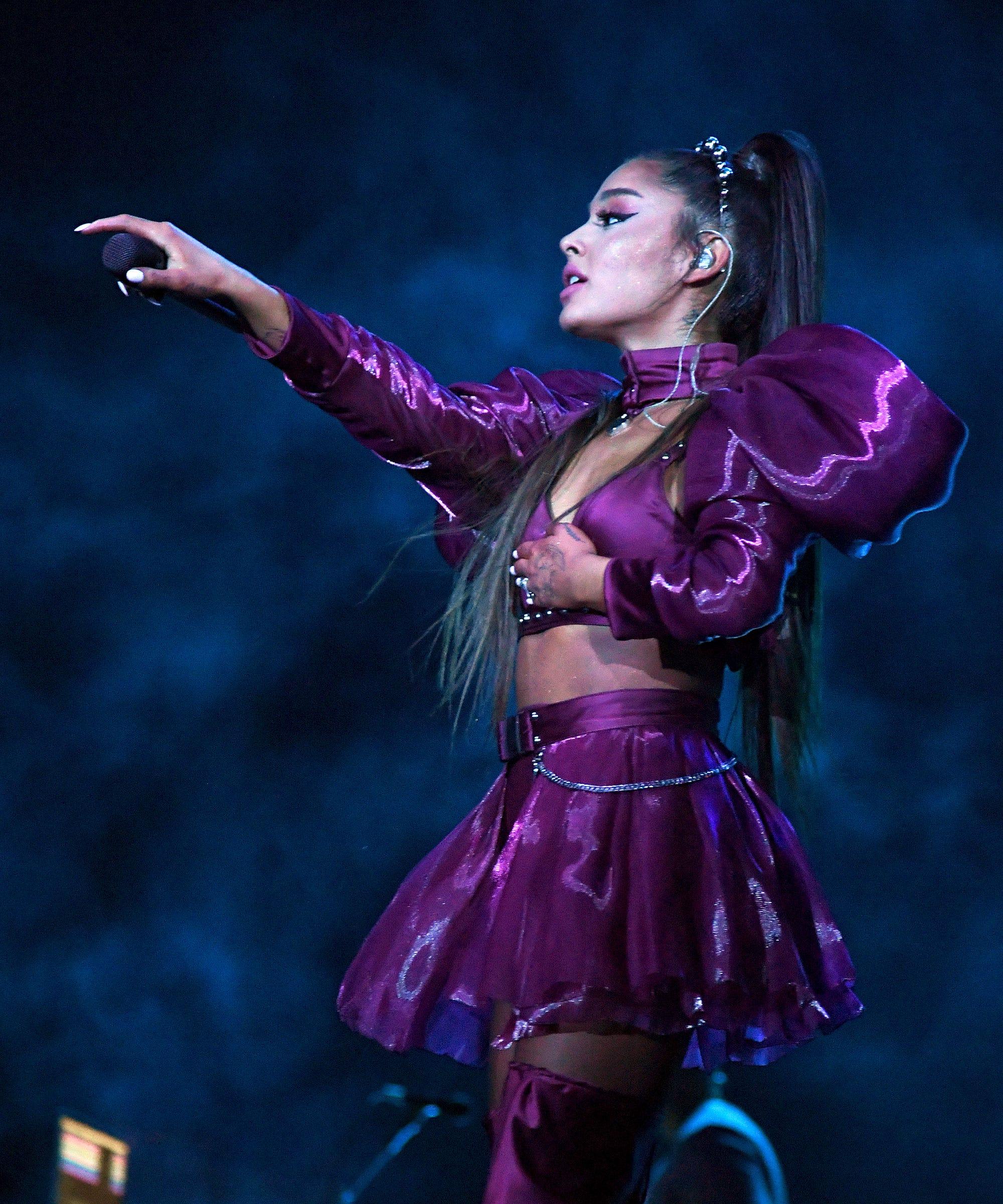 Ariana Grande's Breakfast At Tiffany's Tattoo Predicted Her Givenchy Partnership