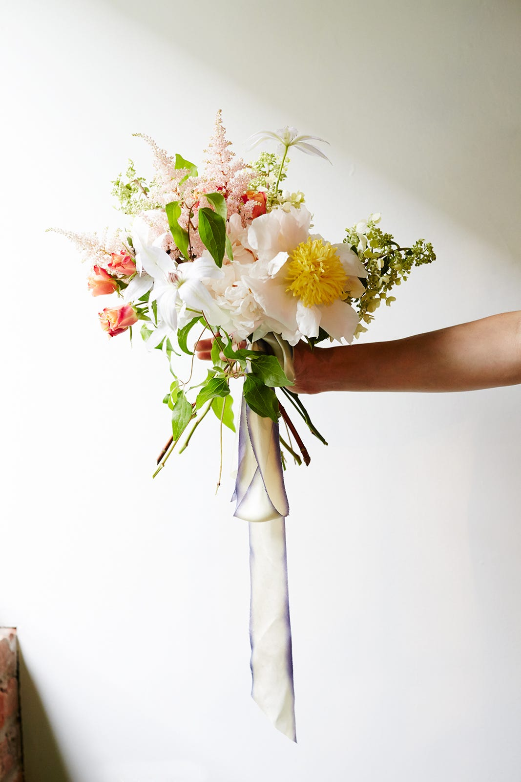 10 important rules for the design of bouquets for the wedding