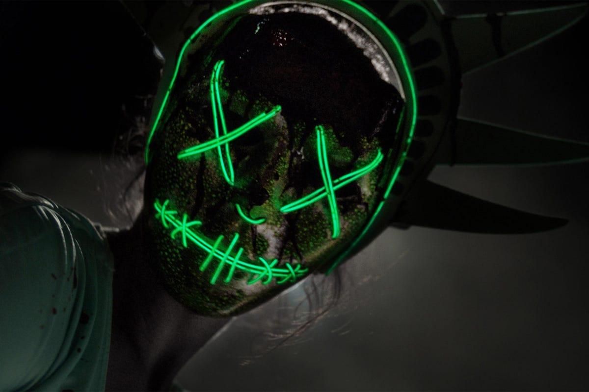 The Purge Halloween Costume Ideas- Candy Girl, Masks