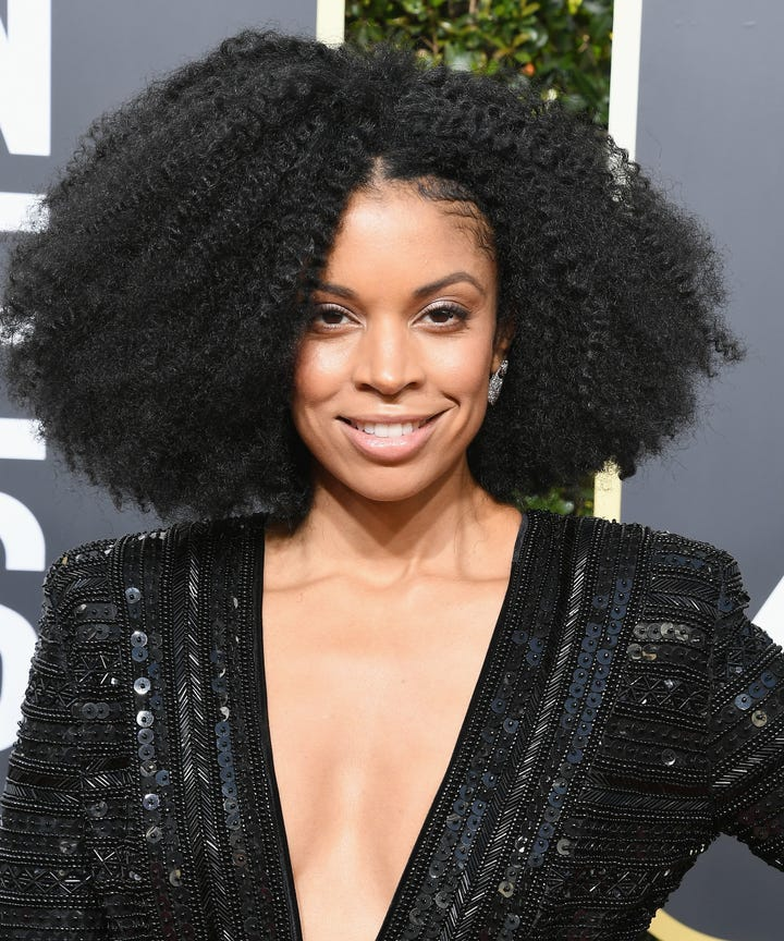 Best Natural Hairstyles Fro Looks Golden Globes 2018