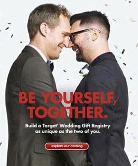 Target Ads With Gay Couple Be Yourself Together