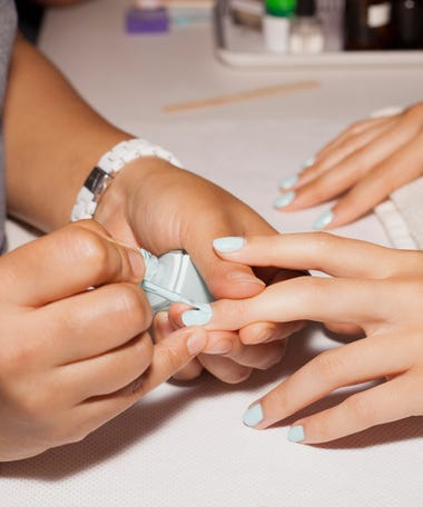 Nail art designs new trends how to diy ideas the holiday nail polish trend that were still seeing in 2018 prinsesfo Gallery