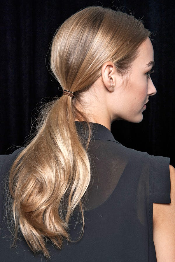 Classic Runway Hairstyles - Timeless Hair Trends