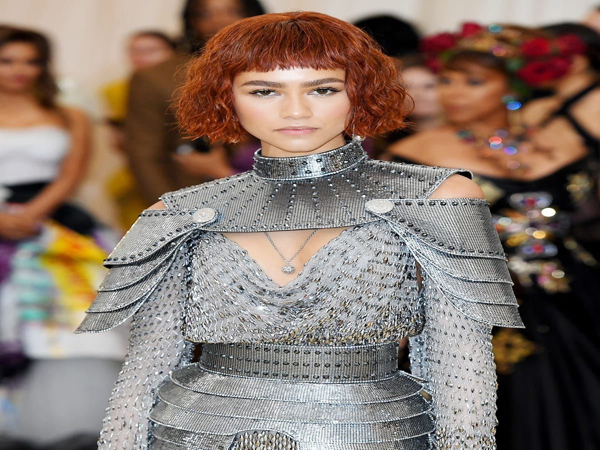 Zendaya Wore L.A. s Most Popular Haircut At The Met Gala
