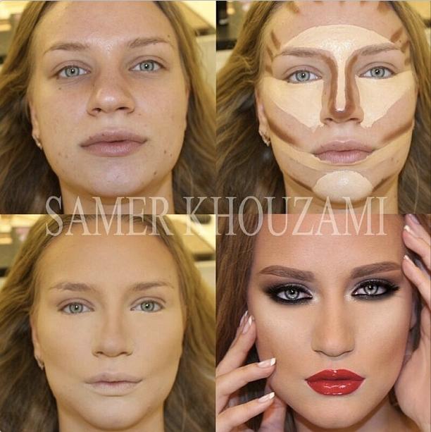 Best instagram makeup transformations photo via cosmetiquette publicscrutiny Choice Image