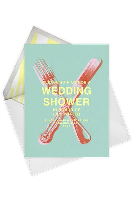 a cool girls guide to bridal showers
