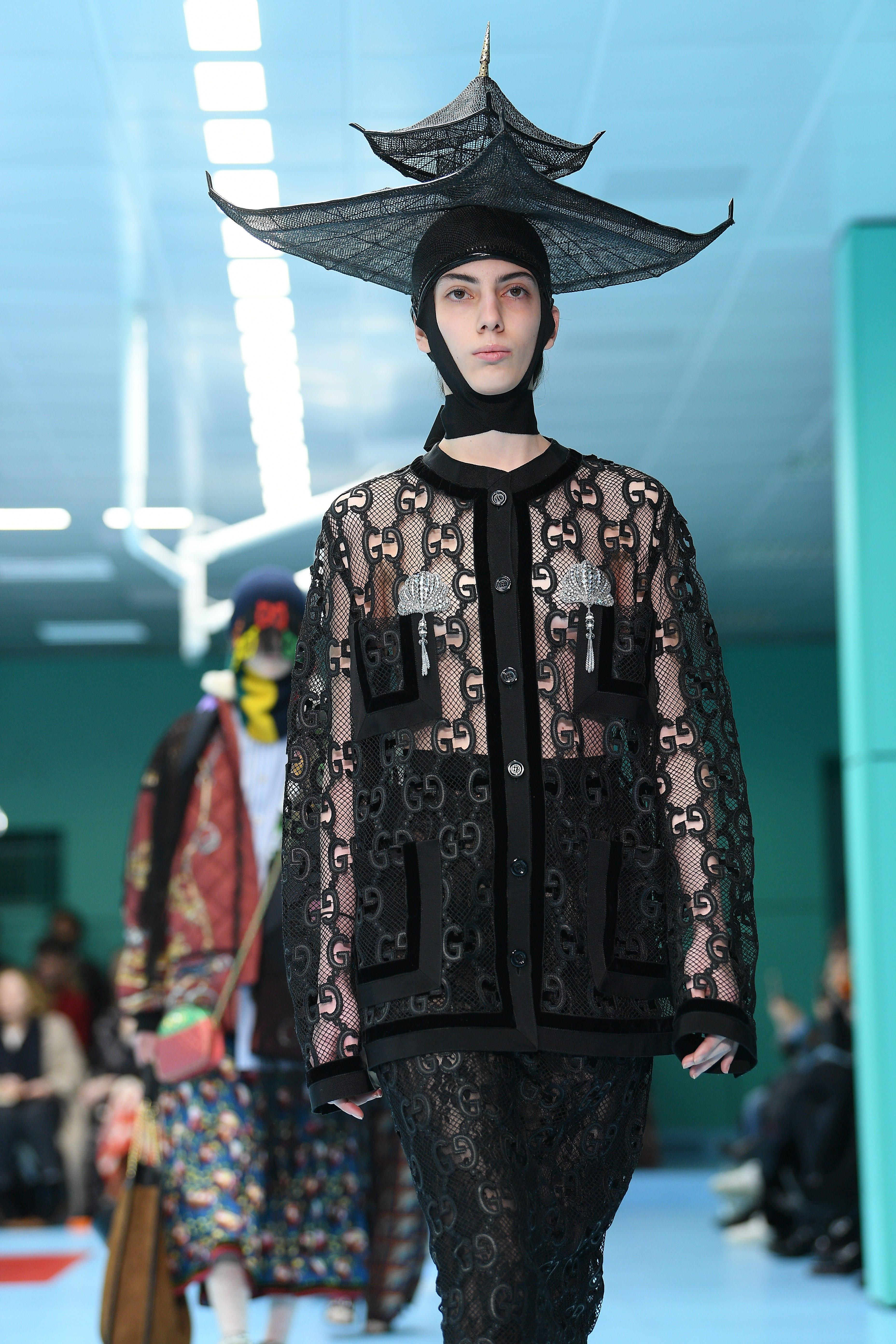 db5304adb280 Gucci Fall 2018 Show Proves Fashion Is Fun   Weird
