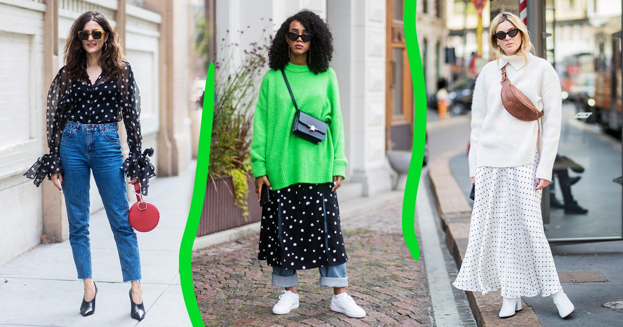392e89cef3 5 Ways To Wear Spring's Polka Dot Trend