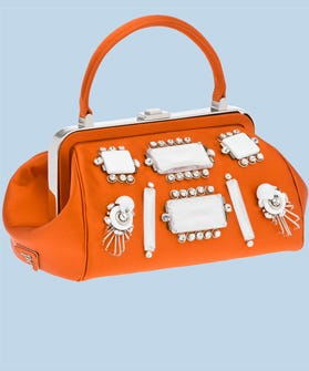 If You Ve Been Following Along At Home Then Know That Prada S Our Bag Since Well Forever We Lusted After It Diy Ed And Queued Up