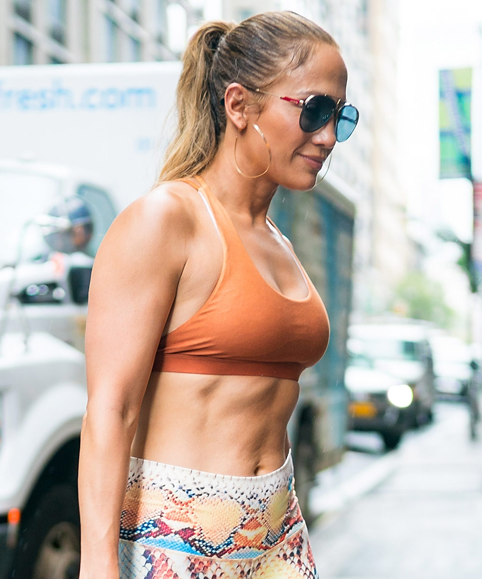 The Varied Fitness Routine That Keeps J. Lo Looking So Damn Good