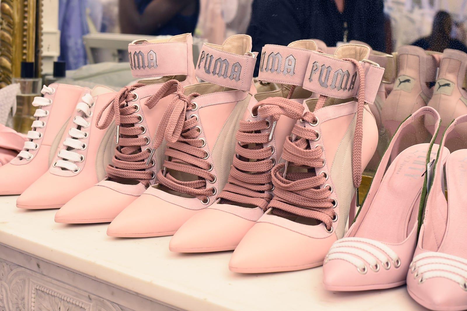 Rihanna Fenty Spring 2017 Puma Shoes Paris Fashion Week 2932e72c6