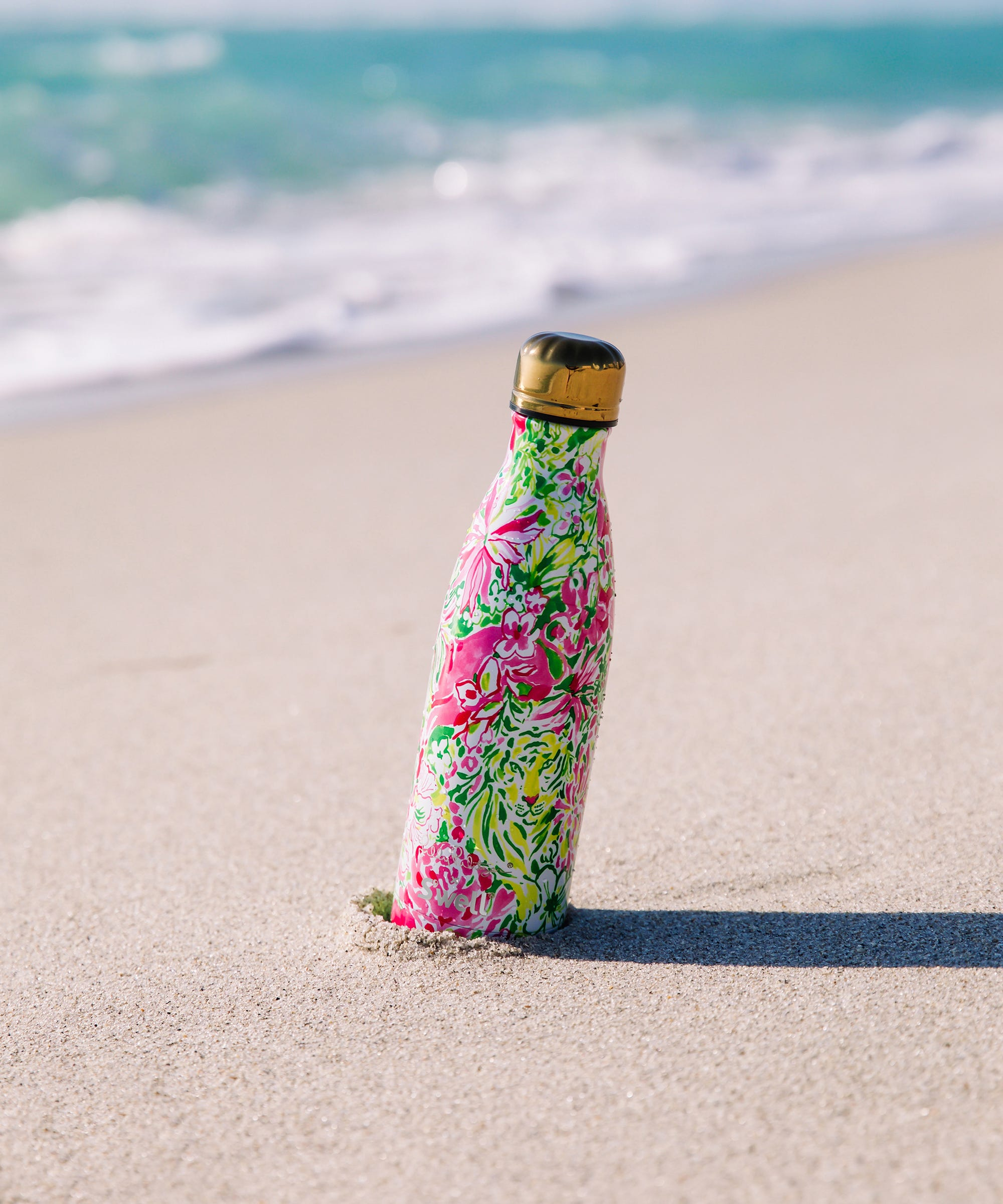 aa8f550f38 Lilly Pulitzer's New S'well Bottles Will Be Here Just In Time For Summer