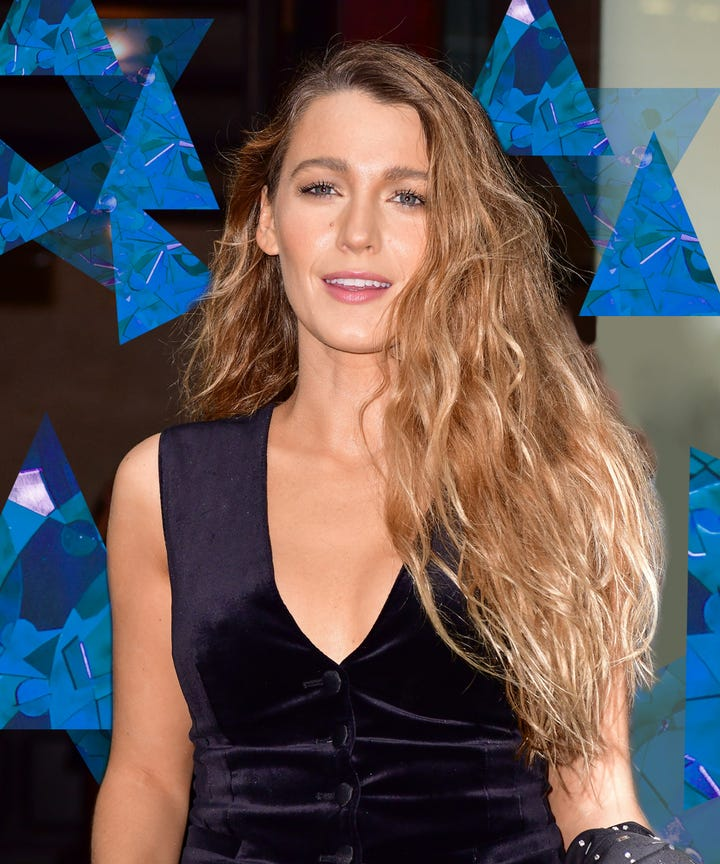 How To Get Blake Livelys Perfect Beach Wave Hair