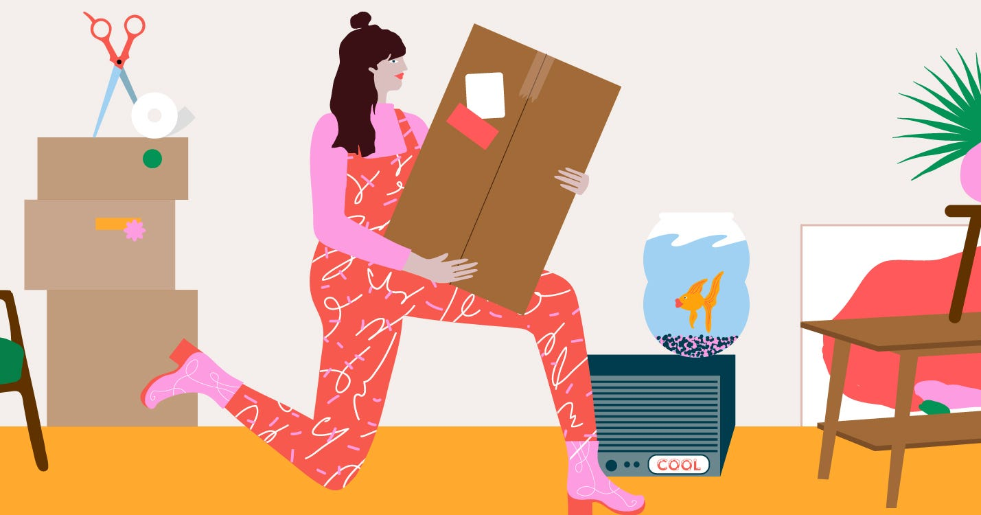 Moving Is The Hardest Thing I've Done While Single