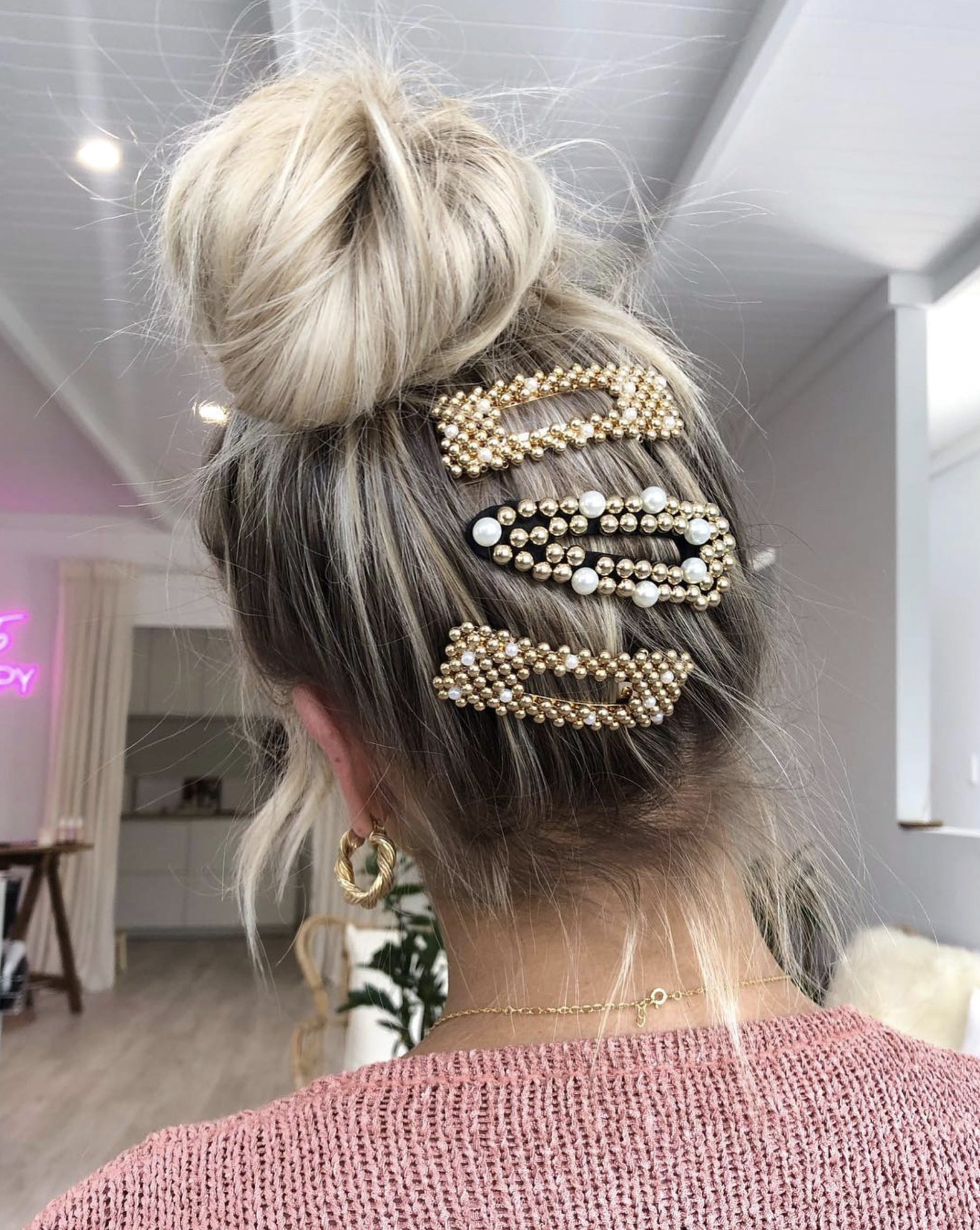 'Ballet Lights' – The Chic Way To Update Your Signature Topknot