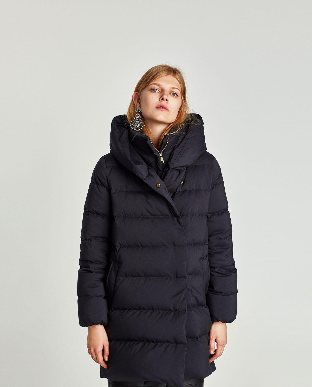 e8361bf70 Zara Winter 2017 Best New Puffer Jacket Coats Shop Now