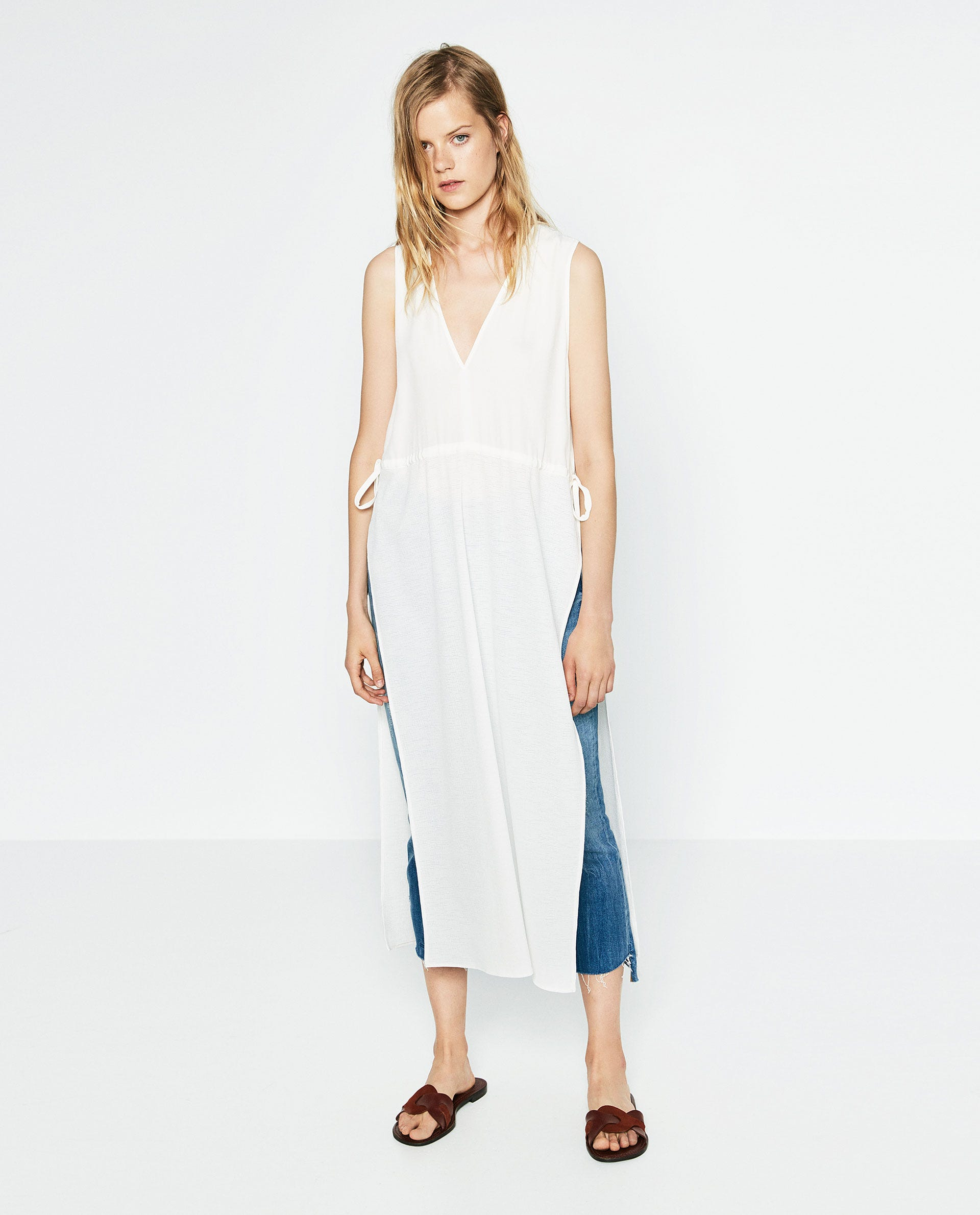 3842e138e12 Zara Spring New Arrivals Dresses Sandals Accessories