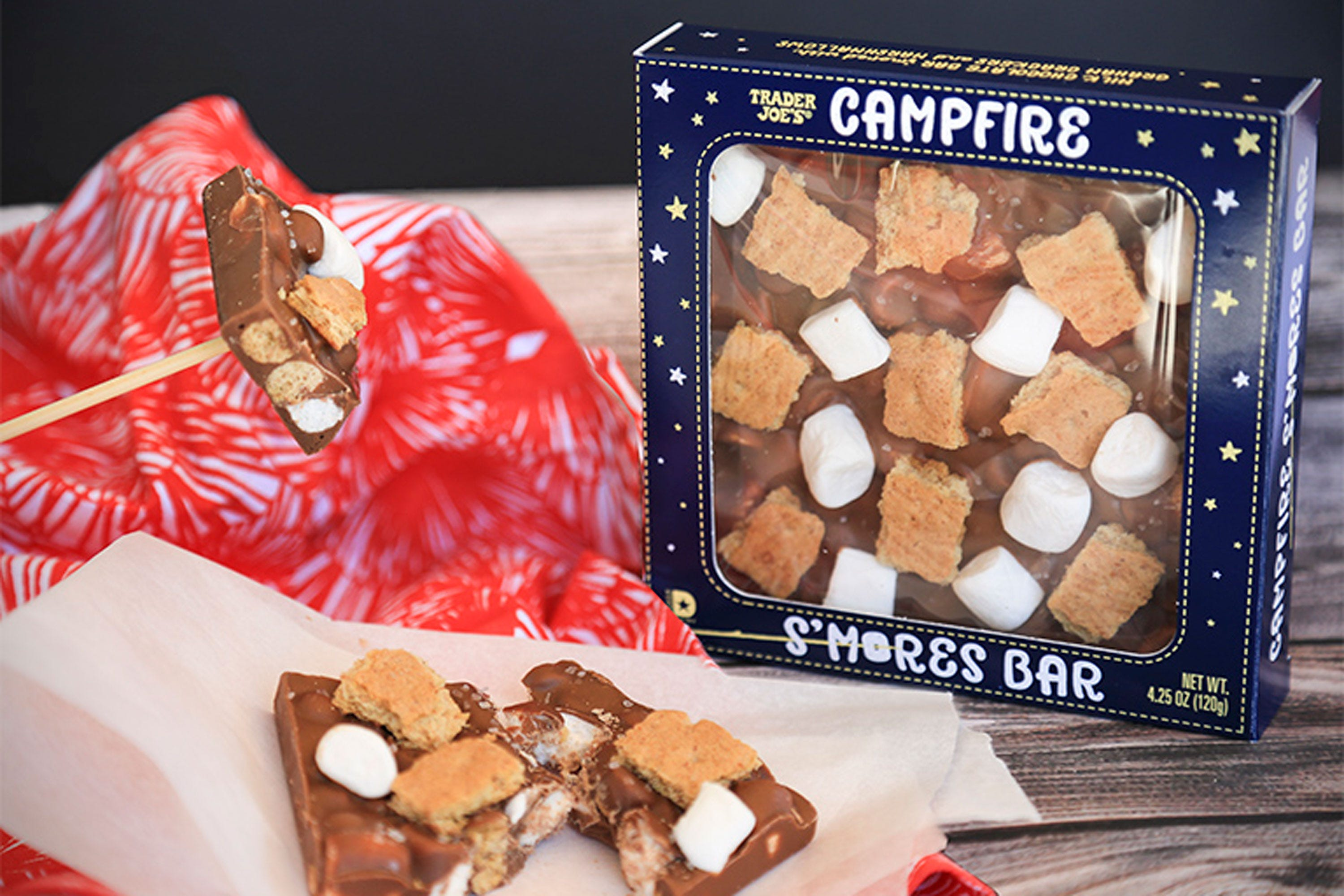 Trader Joes Just Released Our Favorite Campfire Treat In Candy Bar Form