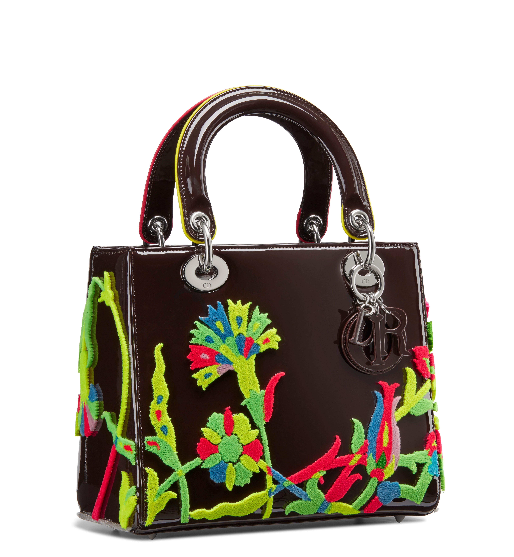 98f88e5c74b4b1 Dior Lady Bag Female Artist Project Debuts In Miami