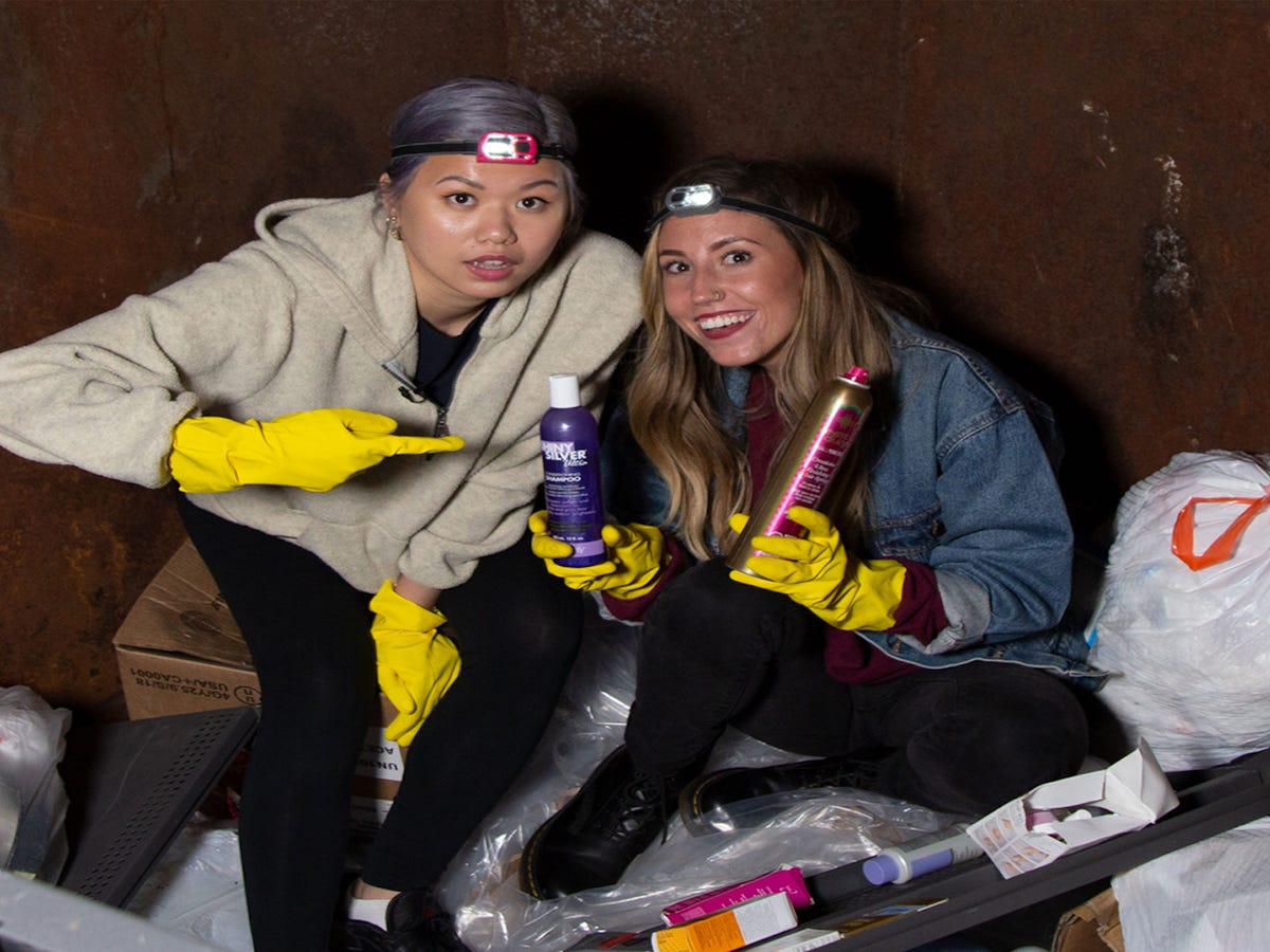 Dumpster Diving  Points To A Much Bigger  Beauty Problem