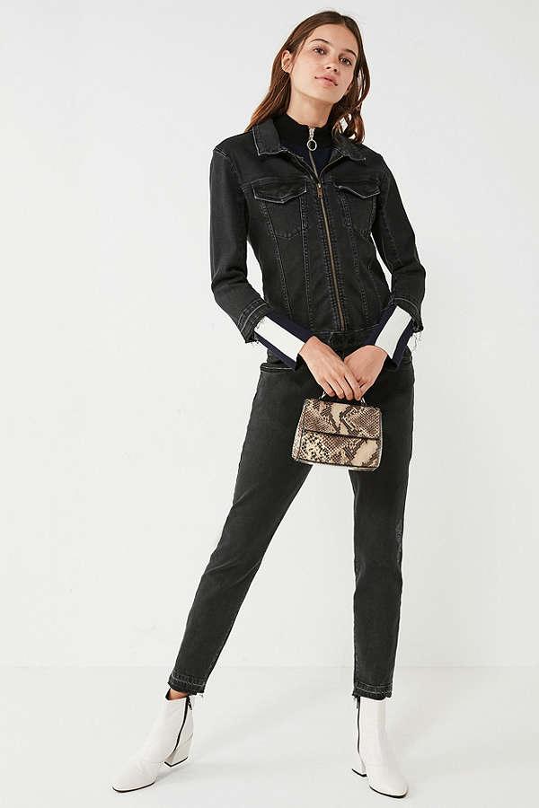 86ad8c6100e7 DL1961. Winnie Denim Zipper Jumpsuit