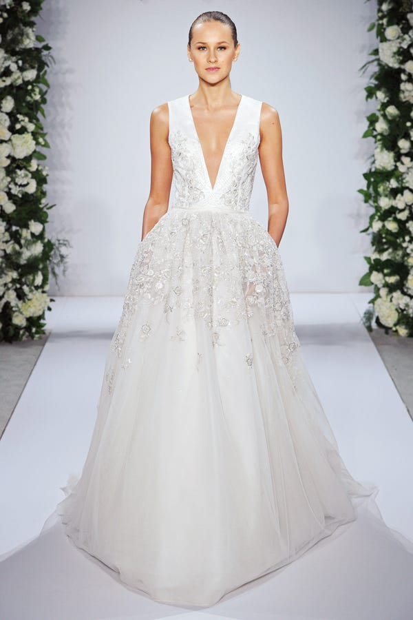 Bridal Fashion Week Trends Wedding Dresses