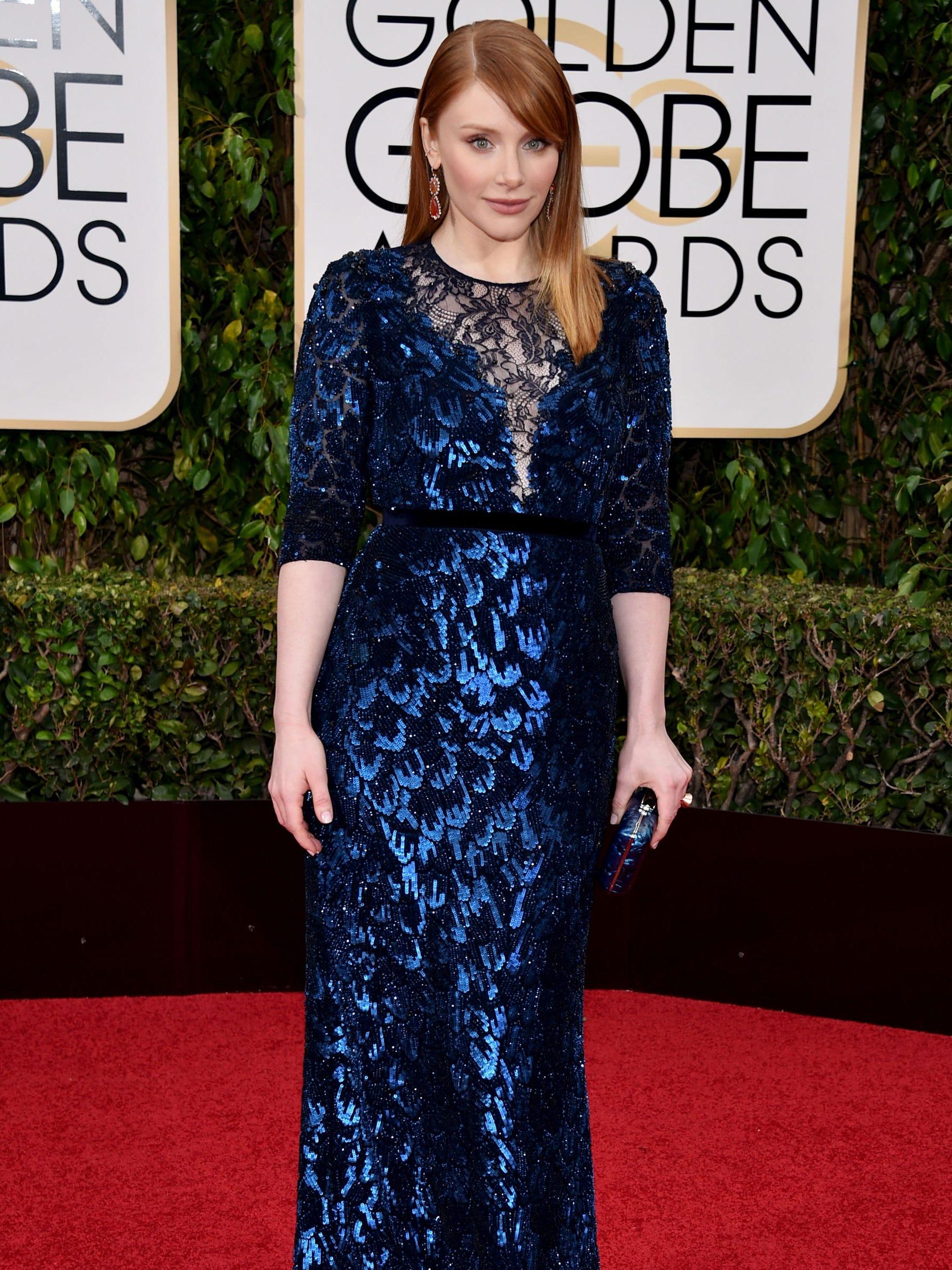 Bryce Dallas Howard Golden Globes 2016 Dress Size 6