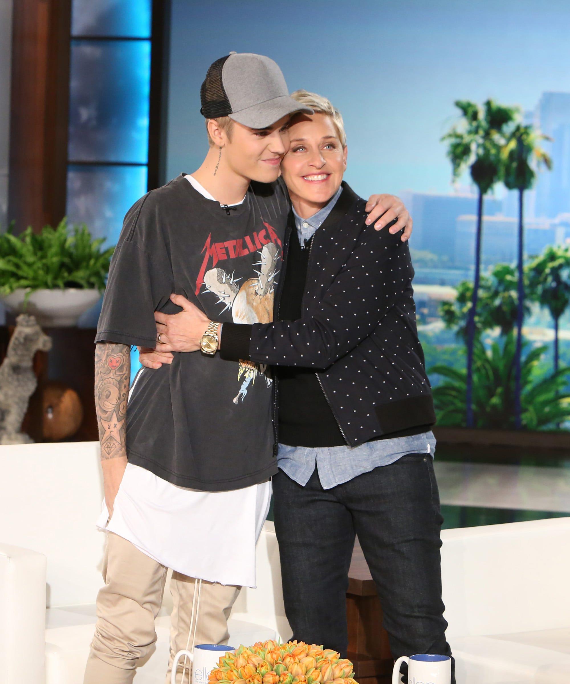 Justin Bieber Songs About Selena Gomez - Ellen Show