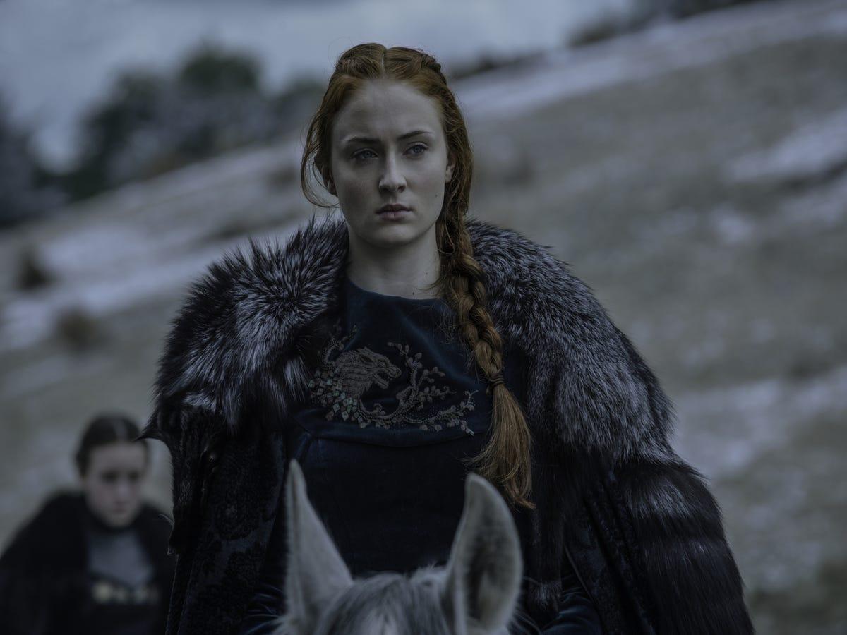 "Sophie Turner Says Jon Snow's ""Sexism"" Makes Him Underestimate Sansa"