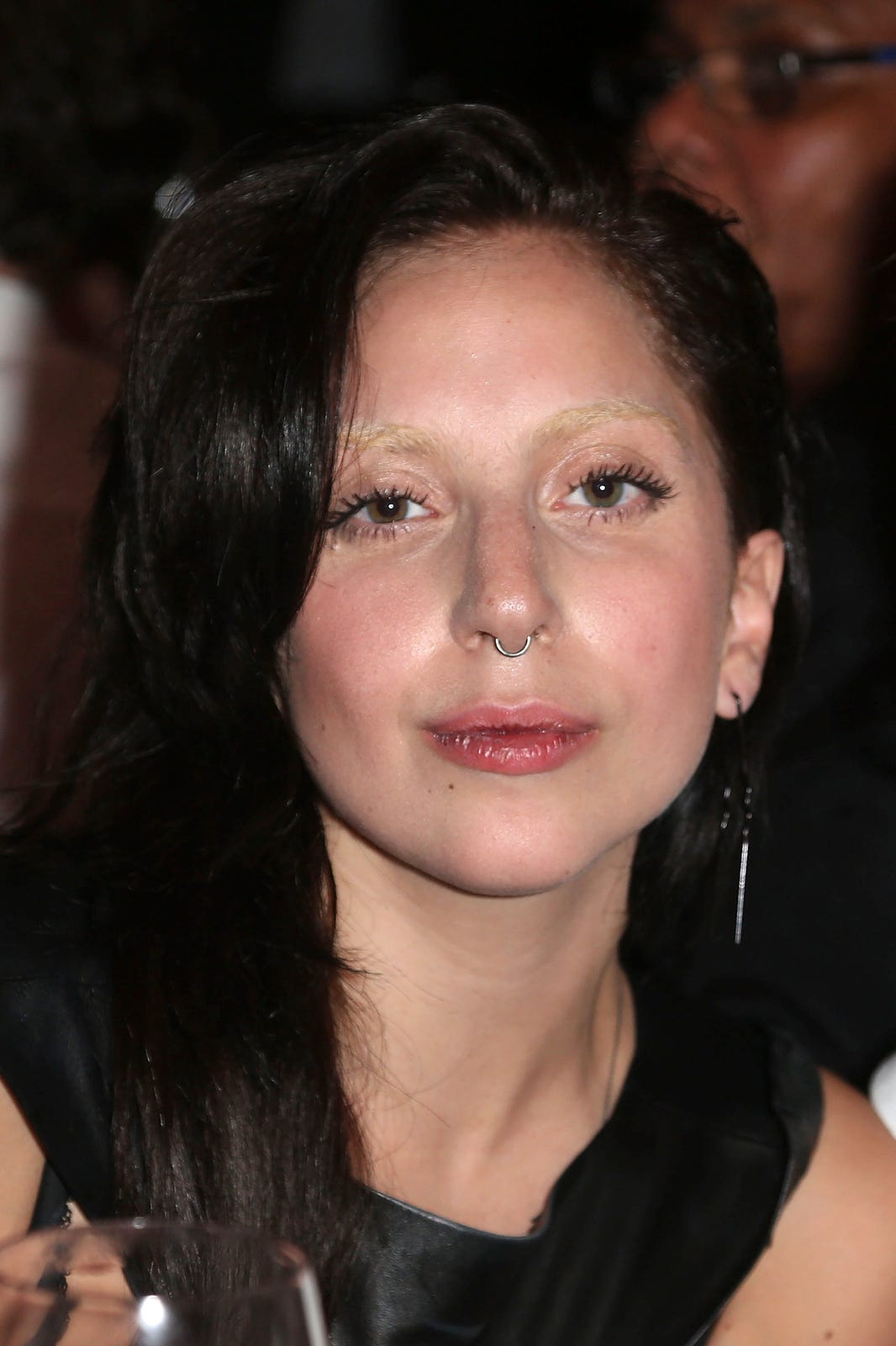 No Brow Trend Celebrities Without Eyebrows