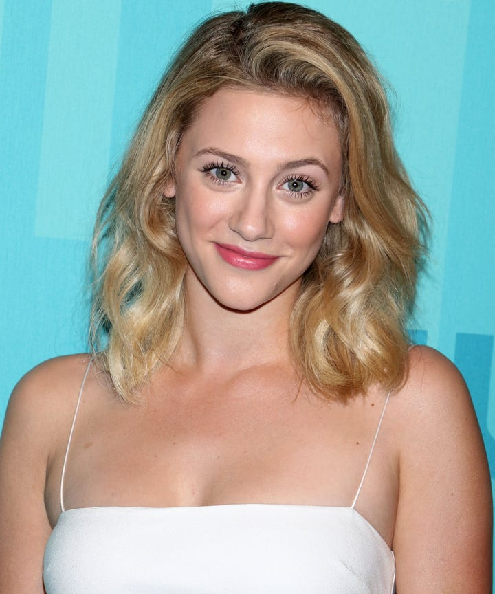 Lili Reinhart Betty Cooper Riverdale Throwback Photo