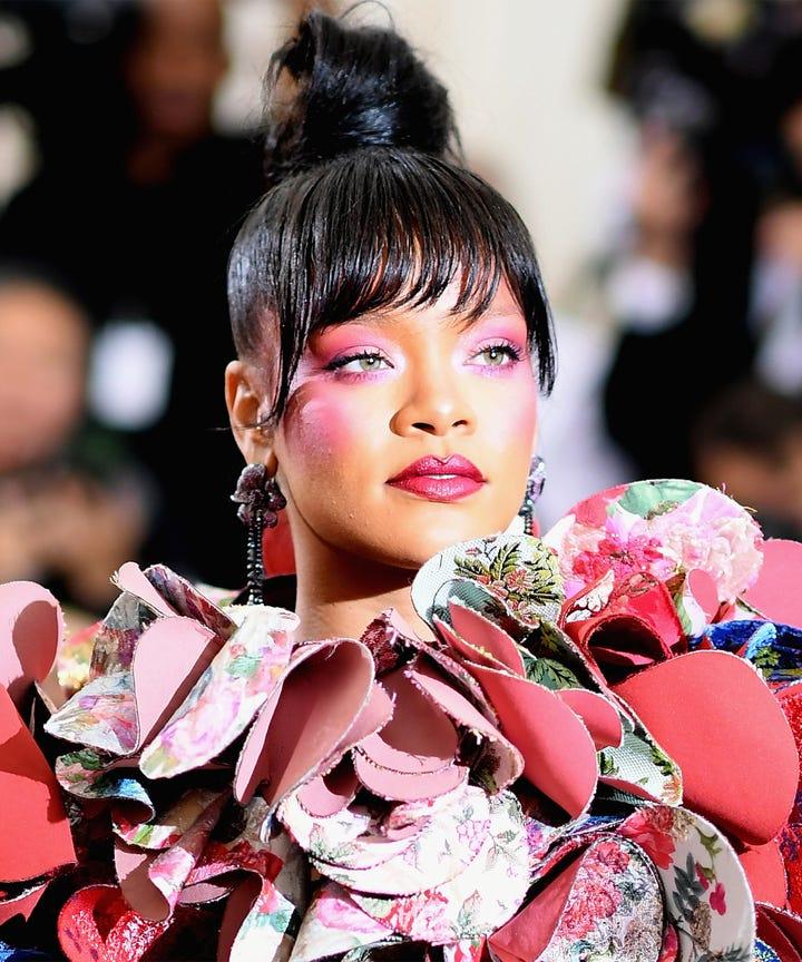 Met Gala Manicures Crazy Nails Rihanna Nicki Minaj