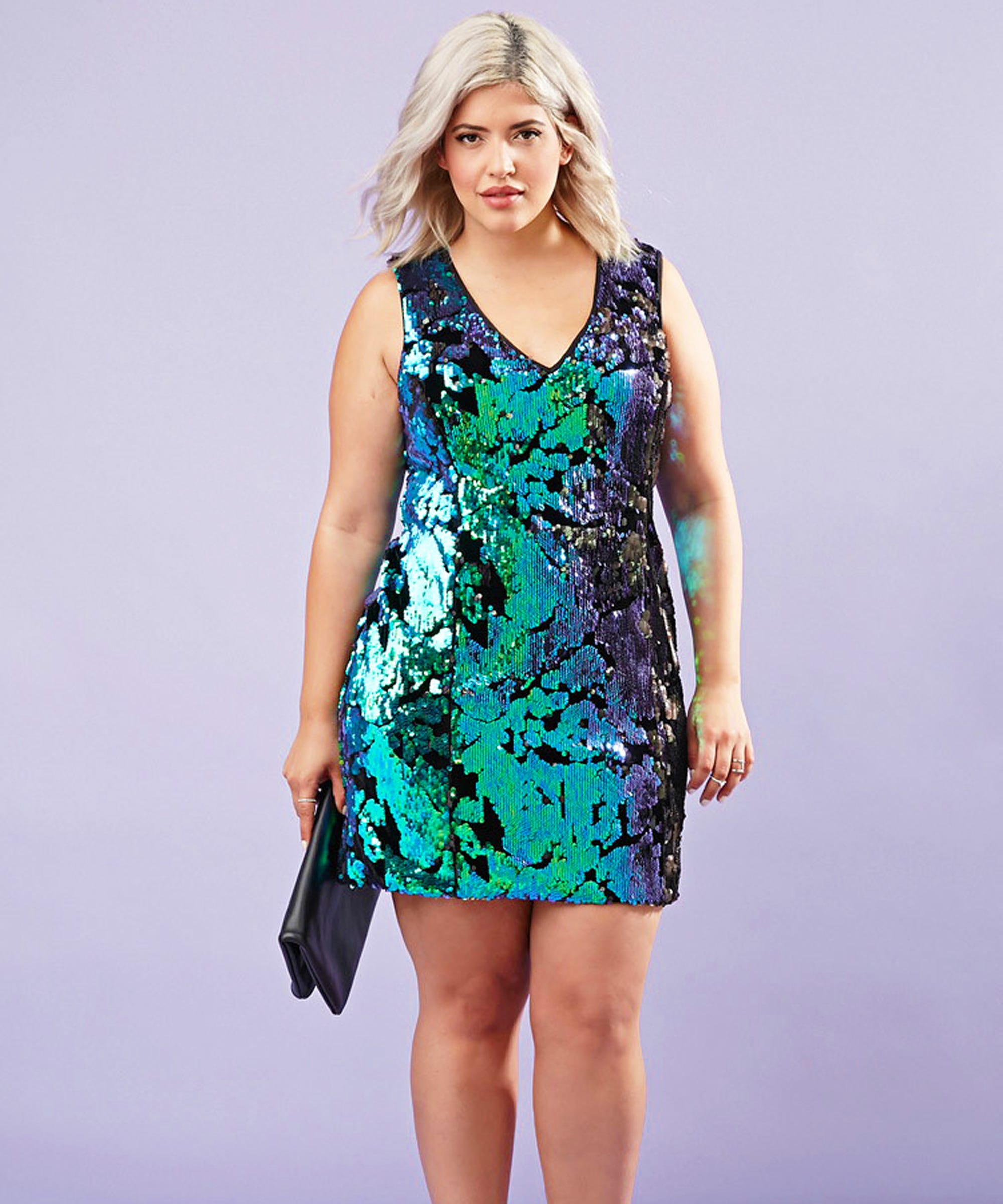 70dc57b6a2 Plus Size Dresses Holiday Outfits
