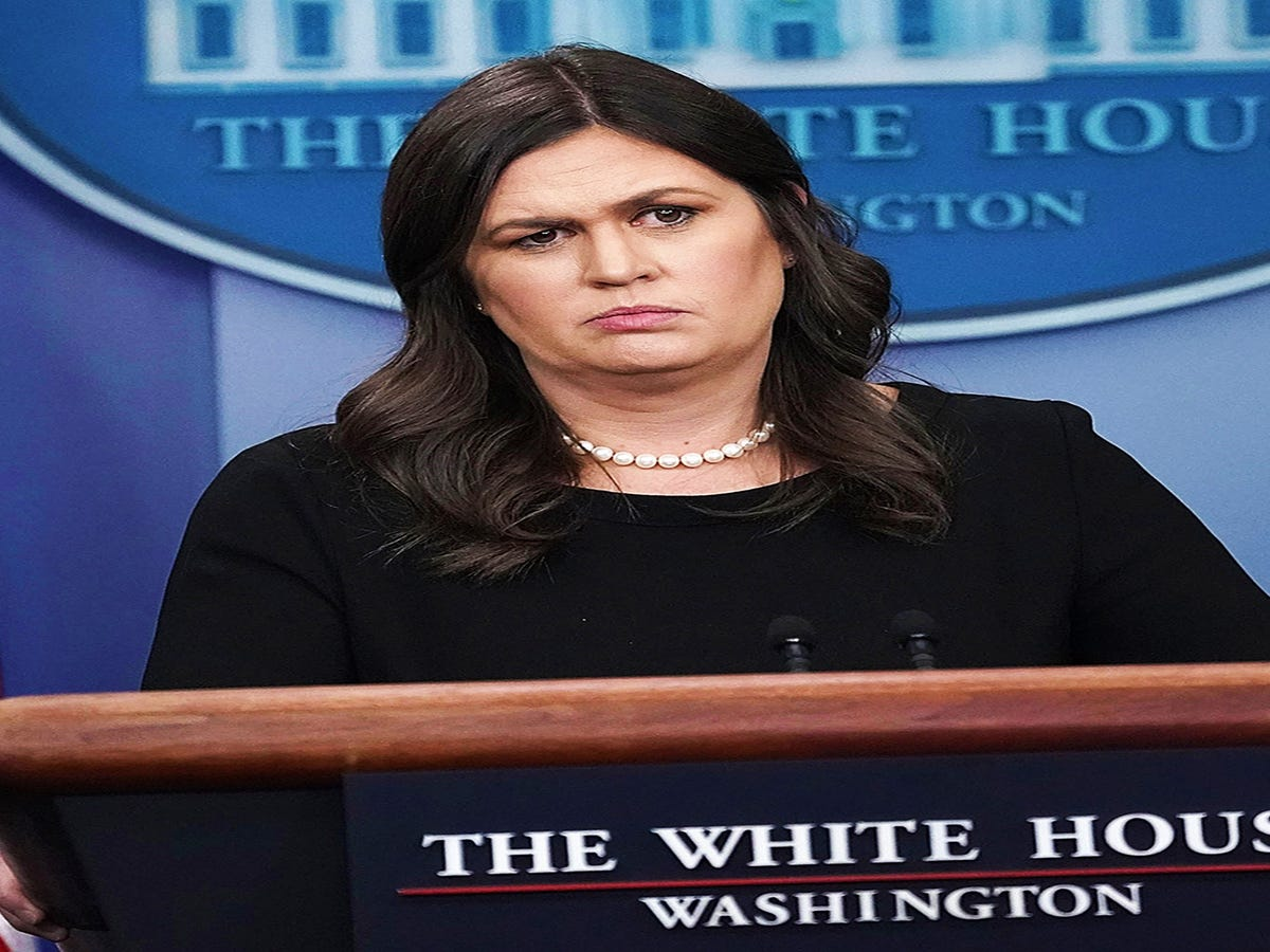 Sarah Huckabee Sanders  Body Language When She s Caught Lying, Analyzed